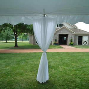 Elite Tent Pole Drapes