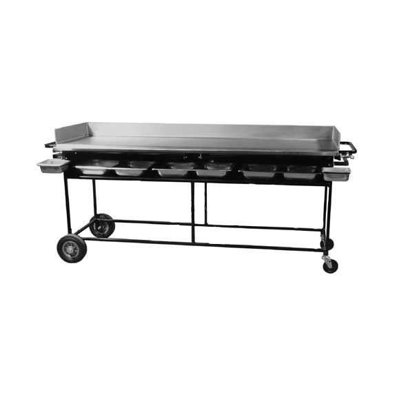 Gas Griddle 24in x 72in