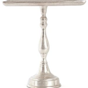 Square Nickel Tray Stand.